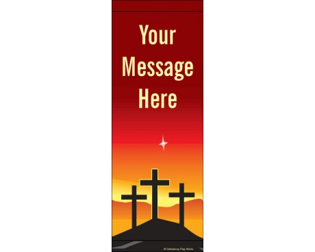 3 Crosses Avenue Banner
