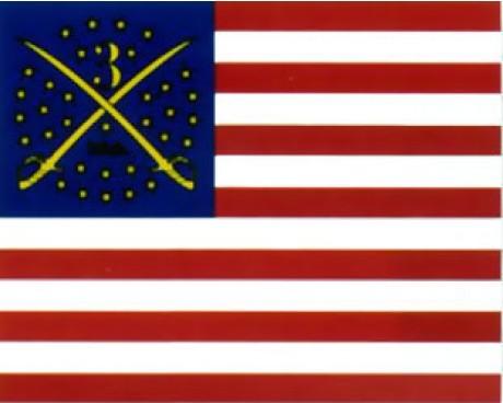 3rd MI HQ (1862) Flag - 3x4'