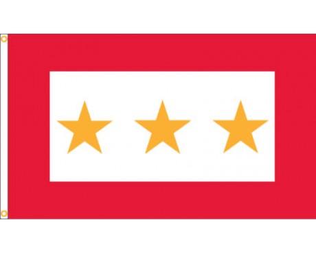 Service Star Flag (3 Gold Stars) - 3x5'