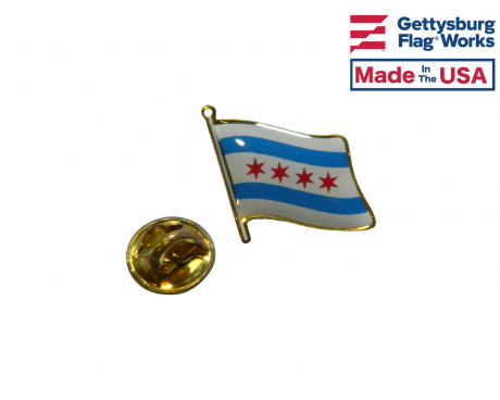 City of Chicago Lapel Pin