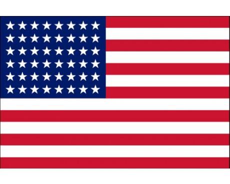 American, 48 Star Flag