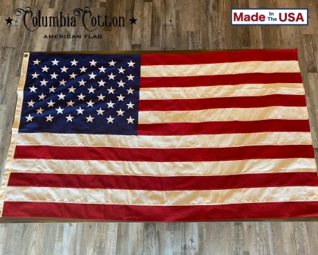 Columbia Cotton American Flag