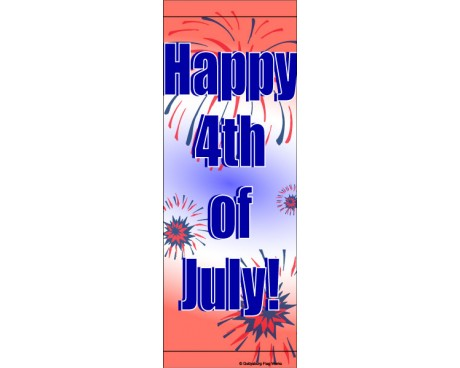 4th of July Avenue Banner