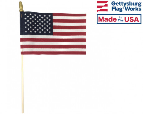 American Stick Flags - 4x6""