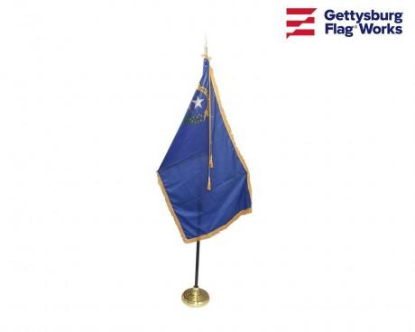 Nevada Indoor Flag Set-3x5