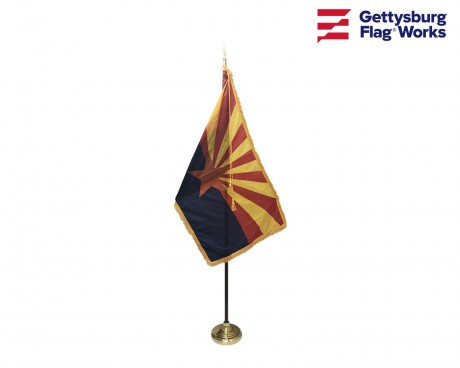 Arizona Indoor Flag Set-3x5