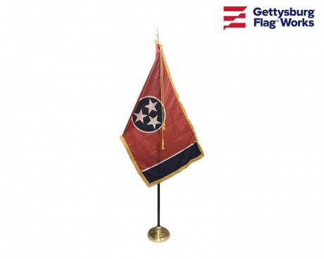 Tennessee Indoor Flag Set-3x5