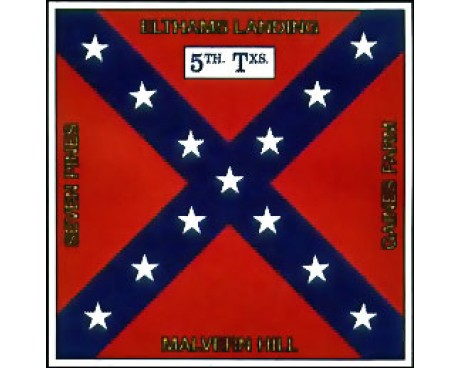 5th TX Infantry Flag - 4x4'