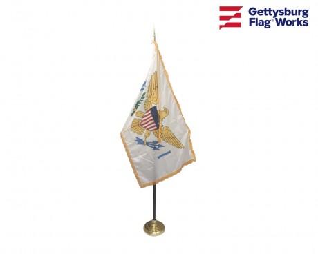 U.S. Virgin Islands Indoor Flag Set-3x5