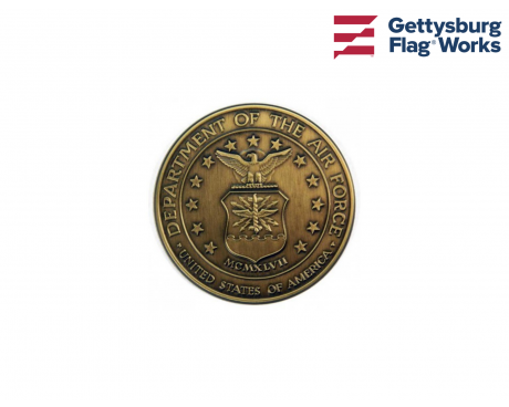 Air Force Brass Medallion