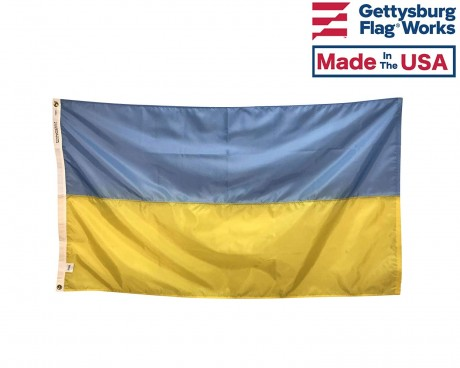 Ukraine Flag, Indoor & Outdoor