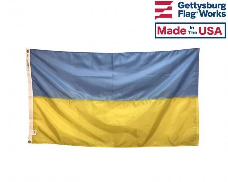 Ukraine Flag, Indoor & Outdoor