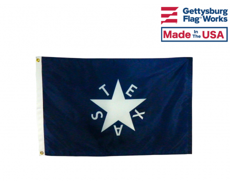 Original Texas - 1st Republic of Texas De Zavala 1836 Flag