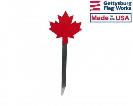Canadian maple leaf flag holder