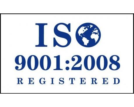 ISO 9001:2008 White Flag