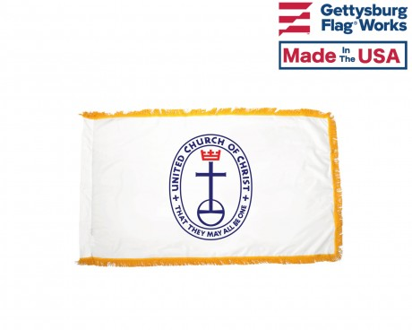 United Church of Christ Indoor Flag
