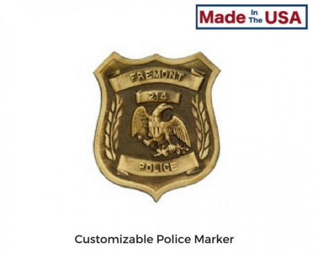 Custom Grave Markers for Police