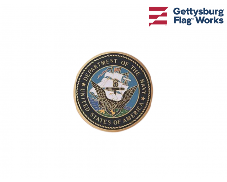 Navy Medallion