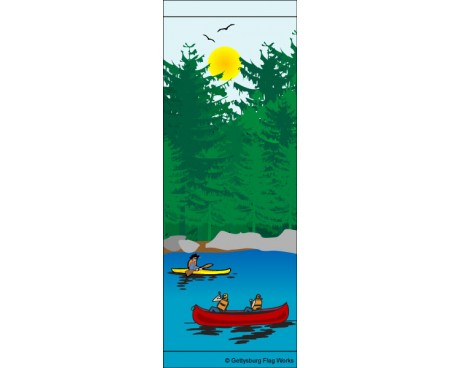 Adirondack Lake Avenue Banner