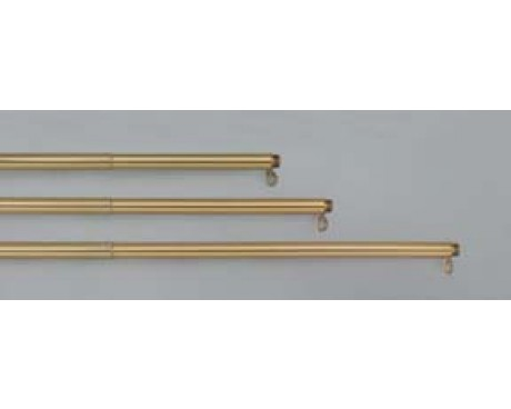 6-10' Adjustable Gold Aluminum Pole