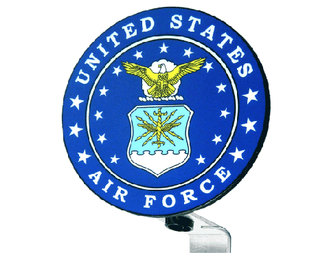 Air Force Seal Grave Marker