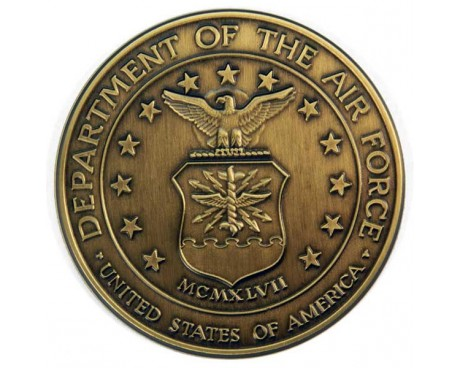 Air Force Brass Medallion