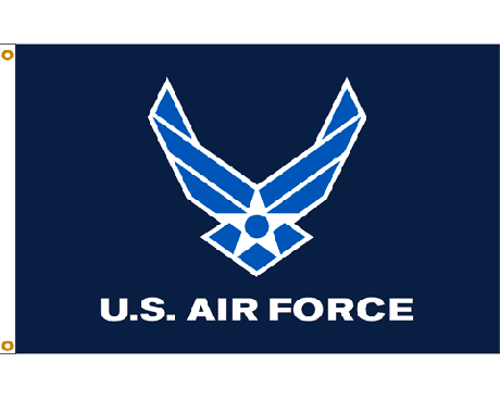 Air Force Wings Flag