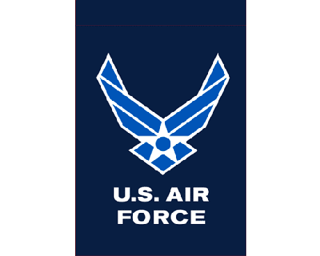 Air Force Wings Garen Flag