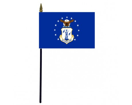 Air National Guard Stick Flag