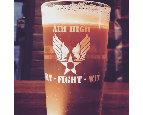 Air Force Pint Glass
