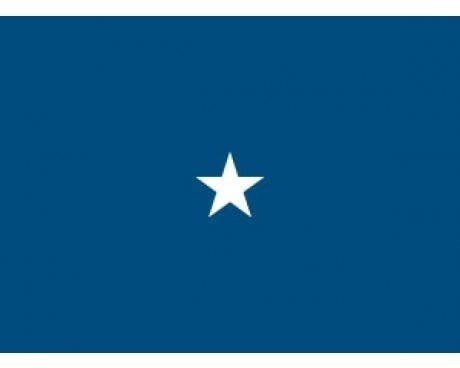Air Force Brigadier (1 Star) General - Indoor Air Force Officer Flags