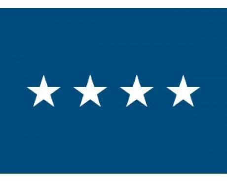 Air Force General (4 Star )  - Air Force Officer Outdoor Flags