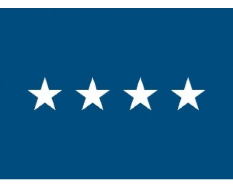 Air Force General (4 Stars) Flag - Indoor Air Force Officer Flags