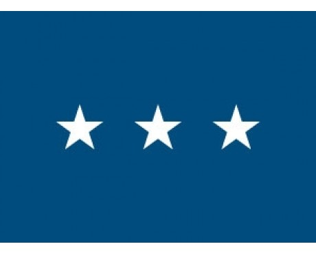 Air Force Lieutenant General (3 Star) - USAF Officer Indoor Flag - Choose Options