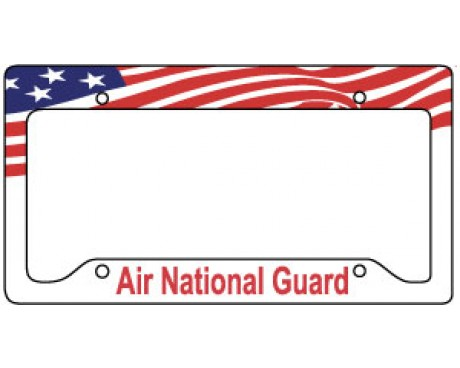 Air National Guard License Plate Frame