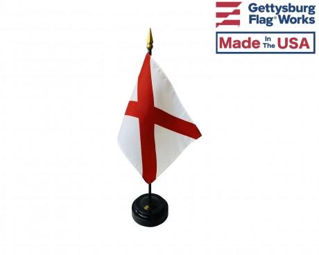 """Alabama State Stick Flag - 4x6"""""""