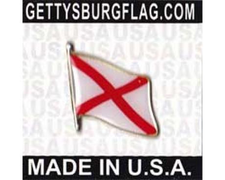 Alabama State Flag Lapel Pin