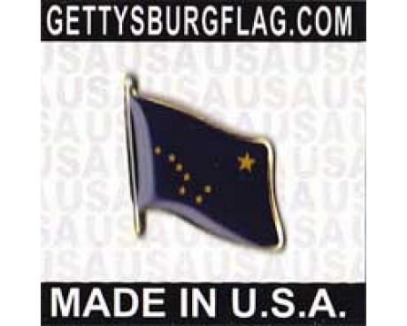 Alaska State Flag Lapel Pin