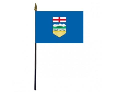 """Alberta Stick Flag - 4x6"""""""