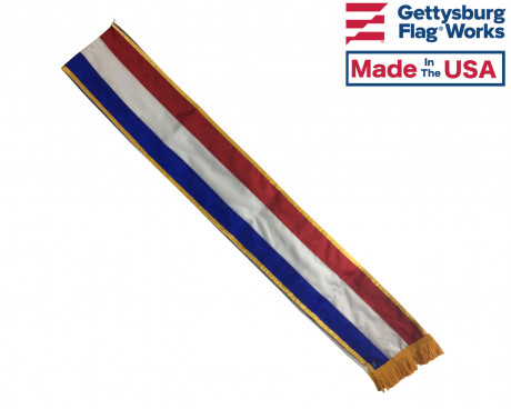 Hispanic Tri-Color Sash-6'