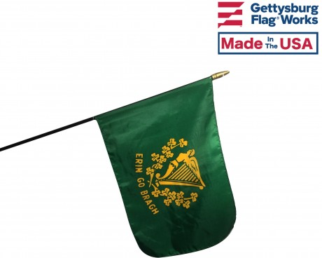 Erin Go Bragh Stick Flag