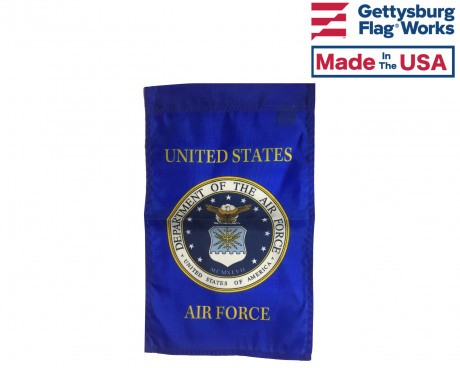 Air Force Emblem Garden Flag
