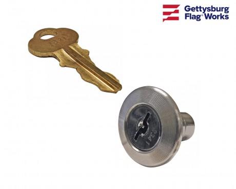 M winch Lock and Key