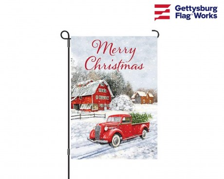 Christmas Truck Banner - Choose Size