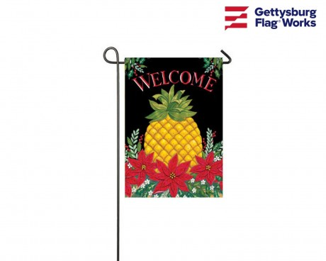 """Christmas """"Welcome"""" Pineapple Banner - Choose Size"""