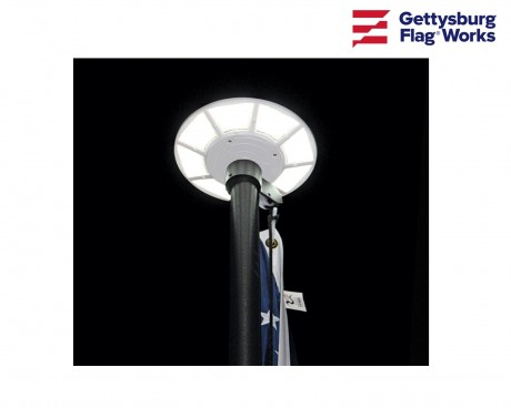 Solar Flagpole Light
