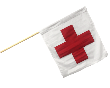 Motorcycle Racing Ambulance Flag