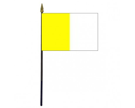 Antrim County Stick Flag (Ireland) - 4x6""