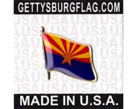 Arizona State Flag Lapel Pin