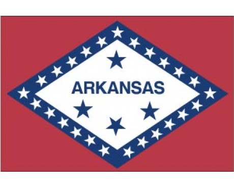 Arkansas Reflective Sticker